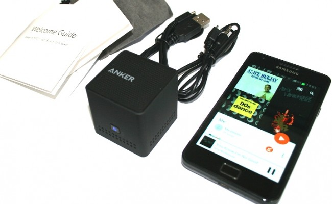 Anker Speaker for Smartphones with Bluetooth