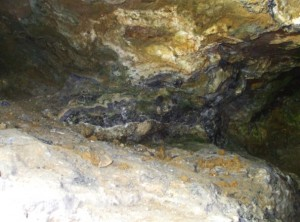 Rocks down the mine