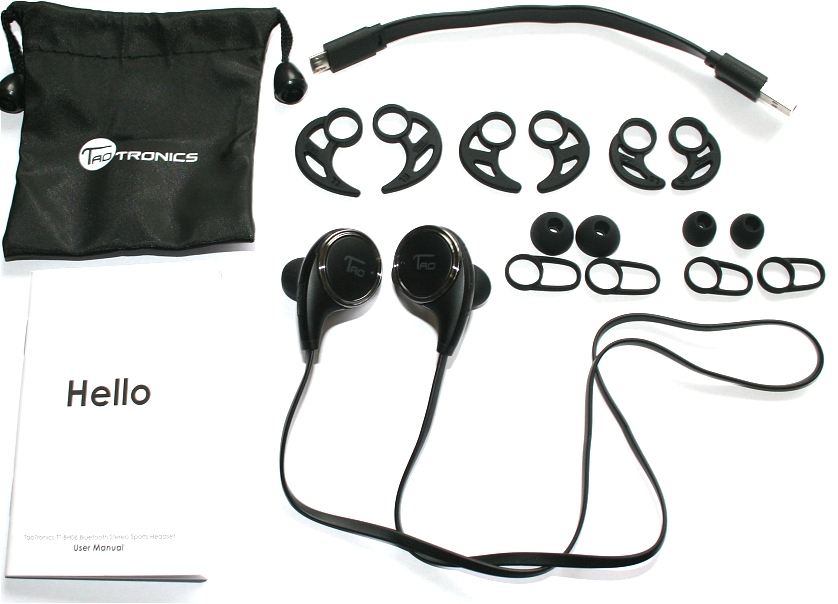 Wireless Bluetooth Headphones review.