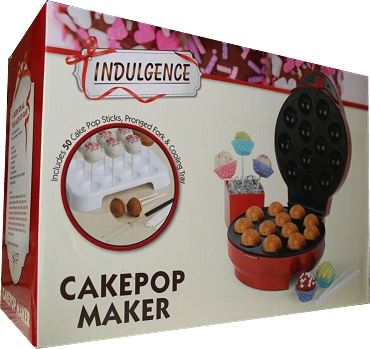 The Cake Pop Maker Kit by Indulgence.