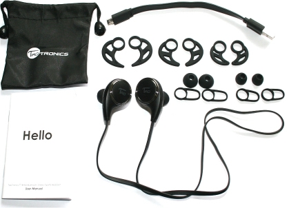 TaoTronics Earbuds with Bluetooth.