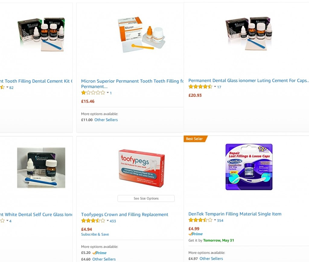 Denseal temporary tooth filling an over the counter fix review various available dental filling kits solutioingenieria Images