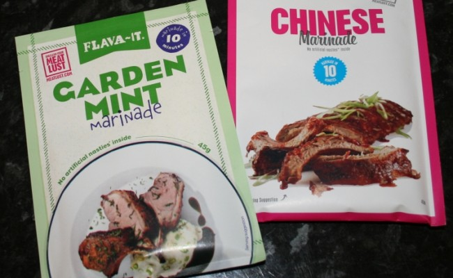 Chinese and Mint Marinade