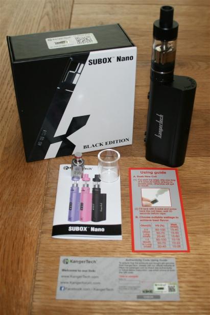 Kangertech SUBOX Nano Starter Kit