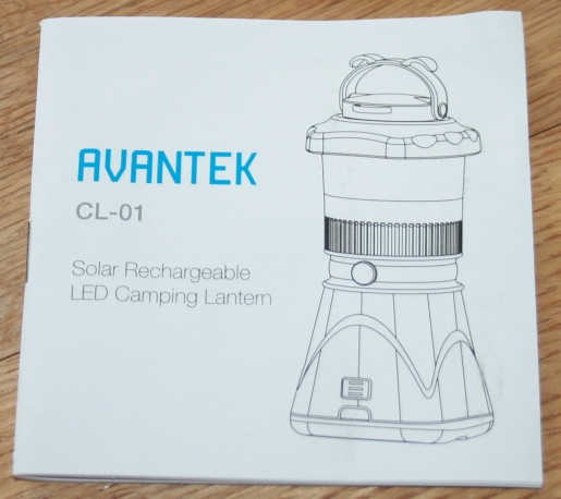 User Guide for the Camping Latern