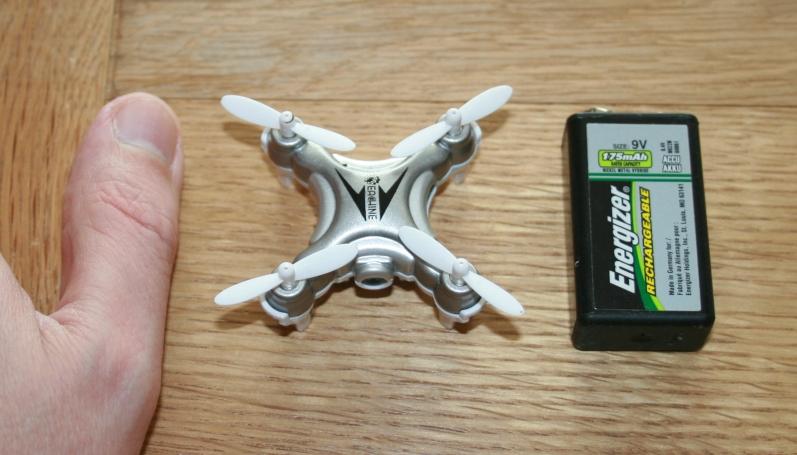 Compare Drone Size