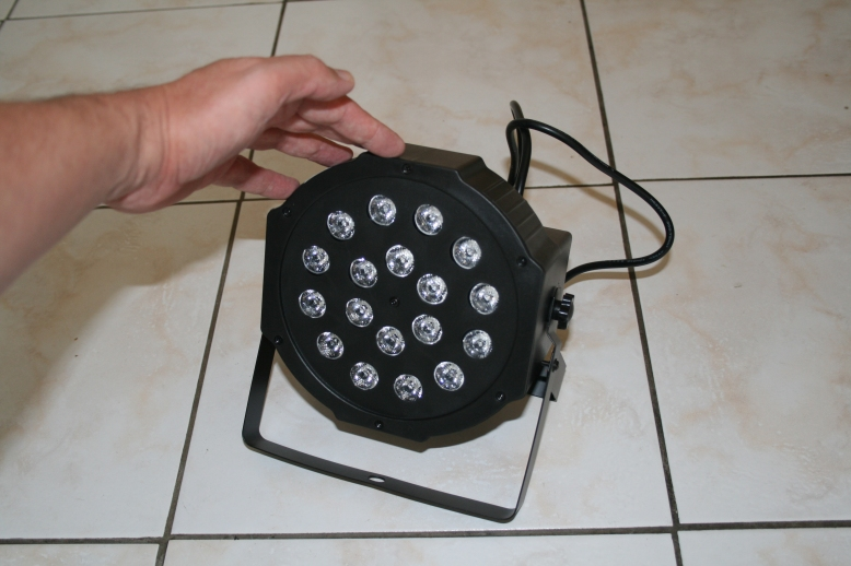 Stobe lights for home party.