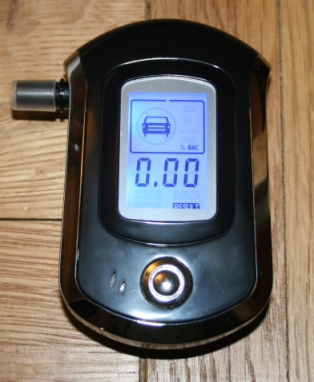 Breath Tester for Blood Alcohol Level