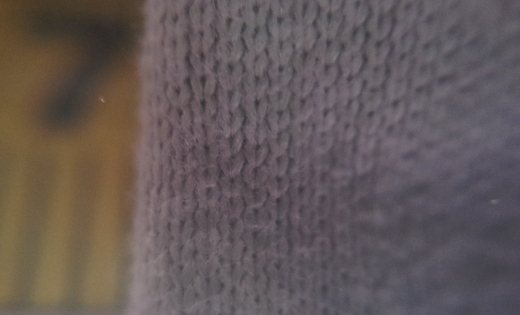 Macro lens attached to mobile