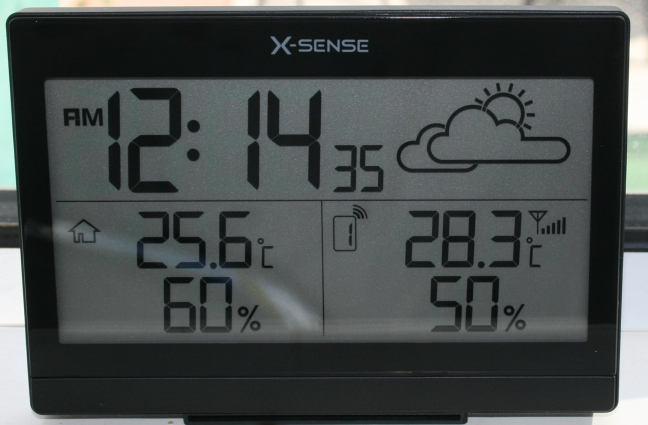 Digital Weather Station with Transmitter for the Home