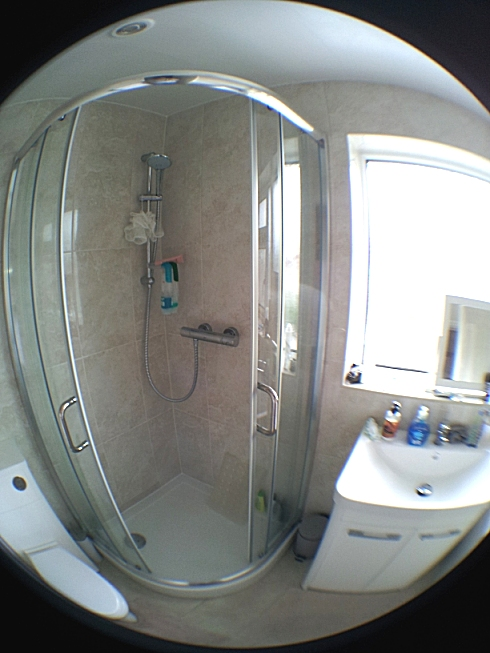 Example photograph from mobile with fisheye