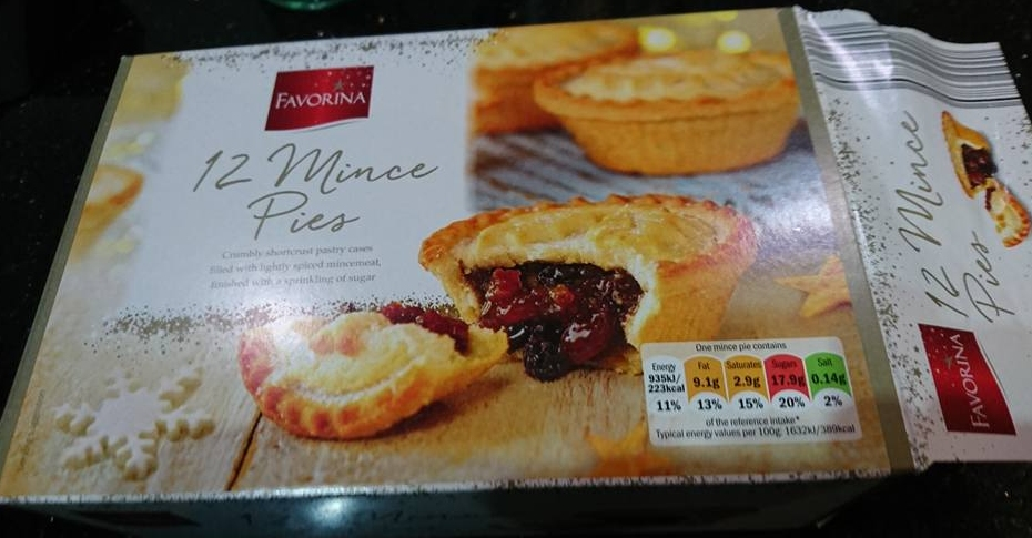 2016 Mince pies - Lidl