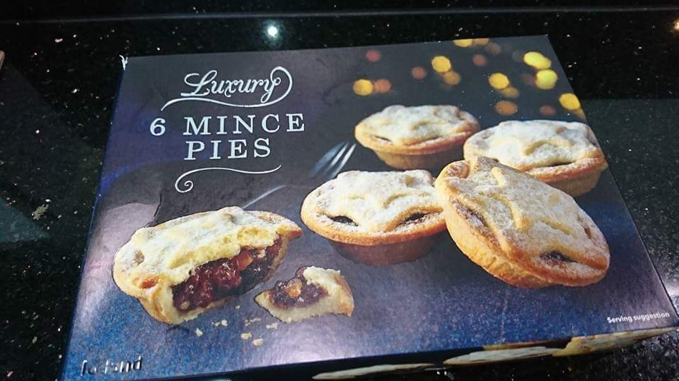 Box of Mince Pies.