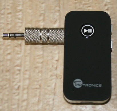 AUX Port Bluetooth Receiver Device