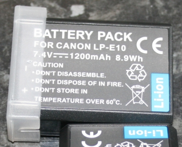 Review canon EOS battery