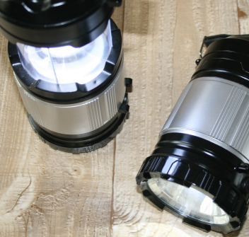 Battery powered camping lanterns