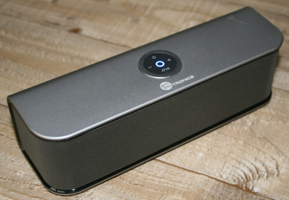 A loud and clear portable speaker